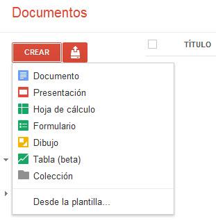 Recursos para docentes: Crea documentos online con GoogleDoc