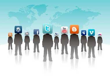 5 redes sociales más populares