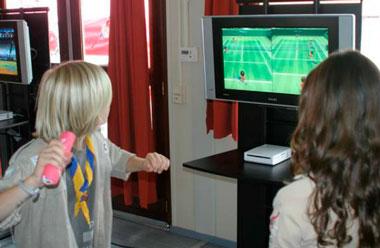 Los Juegos Wii ¿hacen que los hijos hagan más ejercicio?