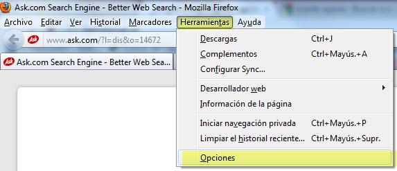 Cómo borrar las contraseñas en Firefox