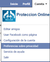 Como configurar la privacidad de Facebook