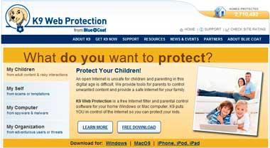 Control parental gratuito