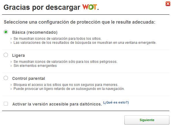 Puntúa la seguridad de un sitio web a través de una aplicación