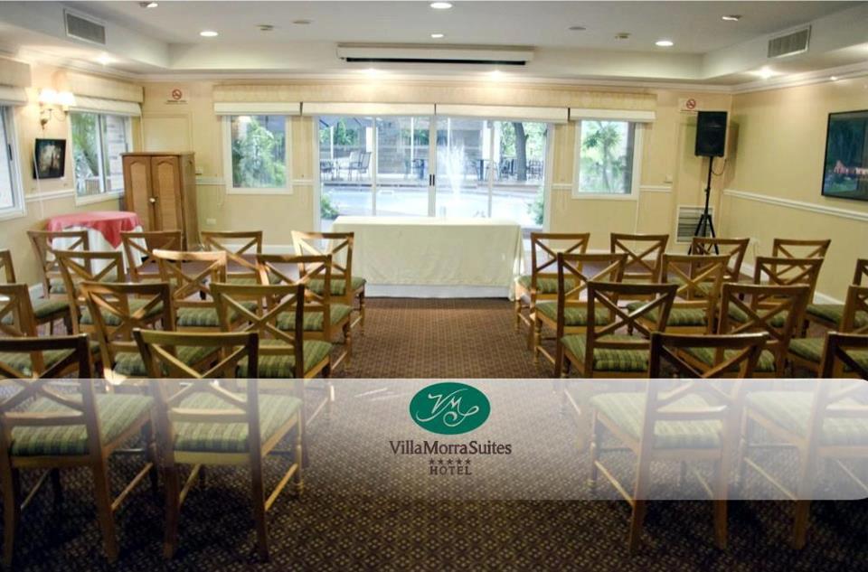 Agradecimientos al Hotel Villamorra Suites por hacer posible la Conferencia HIJOS DIGITALES