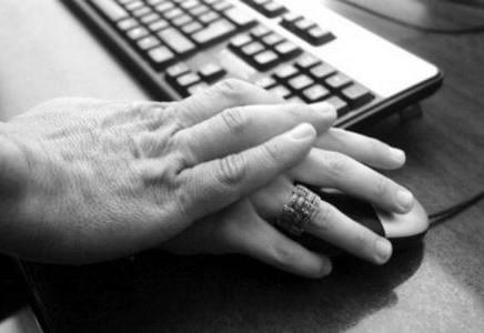 La despedida offline también se representa en mundo online