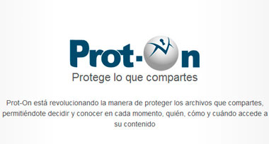 Prot-on, herramienta para proteger tus archivos e informaciones online