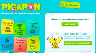 Picapon, una red social solo para niños