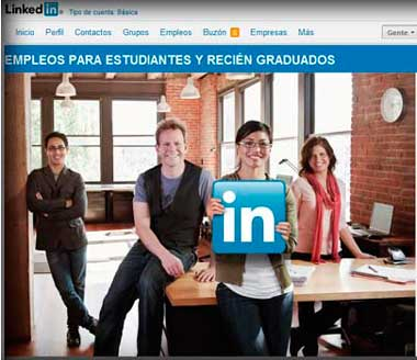 Uso de redes sociales para reclutar empleados