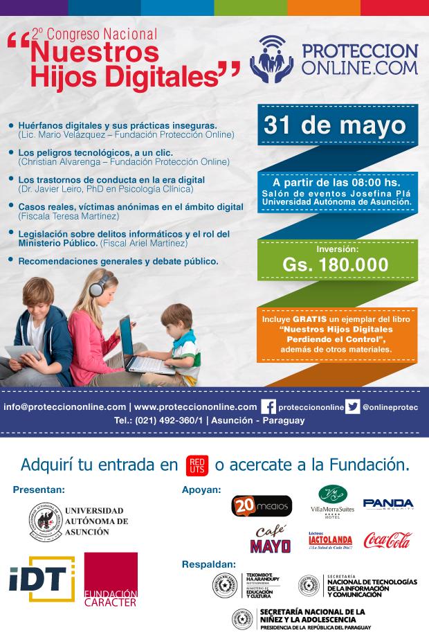 """2º Congreso Nacoinal """"Nuestros Hijos Digitales"""""""""""