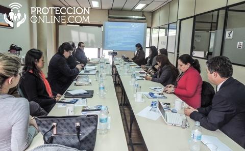 mesa debate proteccion online