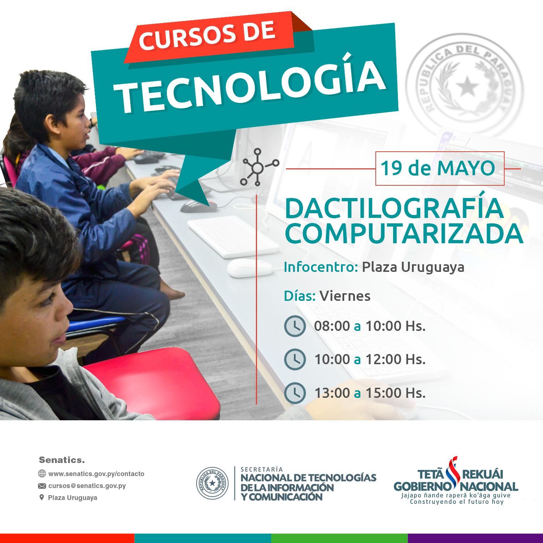 PlazaUuruguaya-Dactilografia