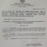 2º Congreso Nacional declarado de Interés Institucional por la SNNA