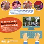 #CampañaSolidaria: ¡Soltemos el teclado, es hora de ayudar!