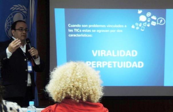 Telefonías y organizaciones, tratan temas de Protección de la Infancia On Line