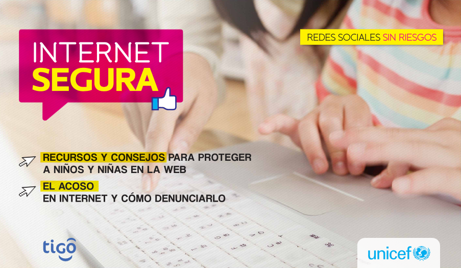 Tigo y UNICEF lanzan manual de internet segura