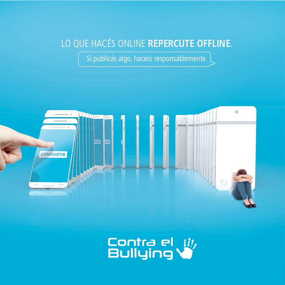 #ContraelBullying Lo que hacés online, repercute offline
