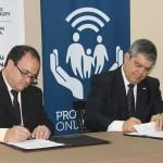 Convenio marco de cooperación interinstitucional entre el Ministerio de Educación  y Cultura y  la Fundación Protección Online